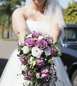 Bridal Bouquet With Roses