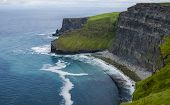 Scene From Cliffs Of Moher