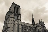 Cathedral Notre Dame In Paris France