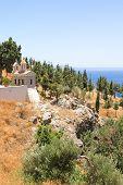 Little Church With Beautiful Sea View In Greece