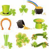St. Patrick's Day symbols