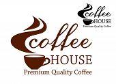 Coffee retro emblem
