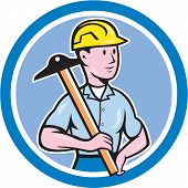 Engineer Architect T-square Circle Cartoon