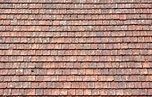 Old Red Roof Tiles Background