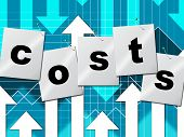 Costs Expenses Means Budgeting Buy And Accounting