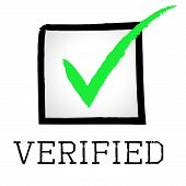 Verified Tick Means Guaranteed Authentic And Approved