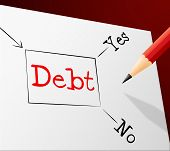 Debt Choice Shows Financial Obligation And Arrears