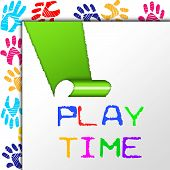 Play Time Means Toddlers Fun And Kids