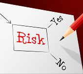 Risk Choice Indicates Problems Hazard And Direction