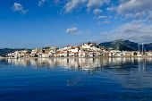 Marmaris view from sea