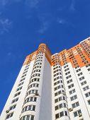 New Colorful Orange Building