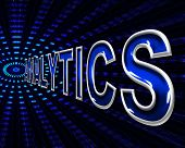Web Analytics Means Website Analyzing And Internet