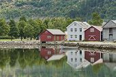 Houses At The Lake