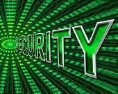 foto of byte  - Data Security Representing Bytes Secured And Protected - JPG