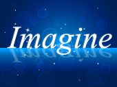 Imagine Thoughts Indicates Thoughtful Imagining And Vision
