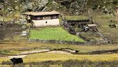 Typical Farm Of Kham, Tibet