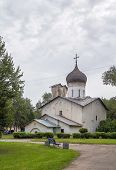 The Church Of St.nicholas, Pskov