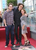 LOS ANGELES - MAY 09:  Rick Springfield, Barbara Porter & Joshua Bowman Springthorpe arrives to the Walk of Fame Honors Rick Springfield  on May 09, 2014 in Hollywood, CA.