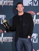 LOS ANGELES - APR 13:  Channing Tatum in the 2014 MTV Movie Awards - Press Room  on April 13, 2014 i