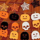 Halloween Bunting Decoration