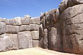 Massive Stone Inca Fortress Walls
