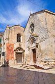 Church of St. Nicola dei Greci. Altamura. Southern Italy.
