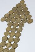 pic of shekel  - This picture shows a lot of coins - JPG