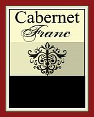 Wine Label for Cabernet Franc