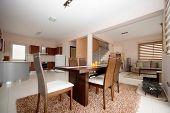 diningroom , kitchen and livingroom