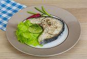 Grilled Shark Steak