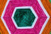 Raw Silk Thread For Background
