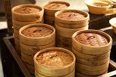 Dim Sum Bamboo Container