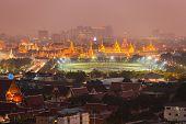 Night Scene Of Wat Phra Kaew