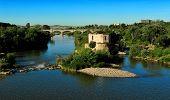 Old Water Mil On Guadalquivir River, Cordoba, Spain