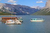 Lake Minnewanka Cruise Boats in Banff National Park