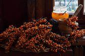 Sea-buckthorn Berries And Honey