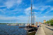 Rostock Harbor. Germany