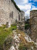 Ruins Of A Castle In Sesena, Castilla La Mancha, Spain