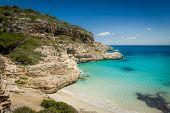 Ibiza wild sand beach