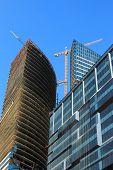 Commercial Buildings Construction Site
