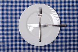 stock photo of table manners  - One more please  - JPG