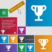pic of winner  - Winner cup Awarding of winners Trophy icon sign - JPG