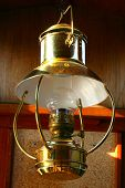 Golden Ship Lantern