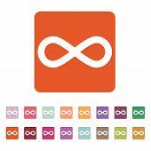 stock photo of infinity  - The infinity icon - JPG