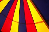 picture of circus tent  - circus tent pattern on a cloth texture - JPG