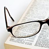 Vision Glasses Dictionary