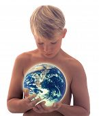 Boy_Holding Earth