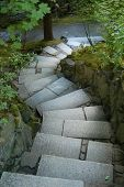 Paseo jardín japonés