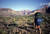 image of grand canyon  - hiking tonto trail grand canyon national park arizona - JPG