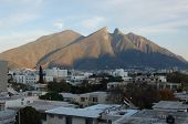 Monterrey in th sunset